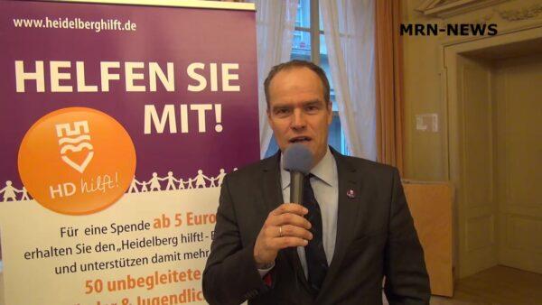 """Heidelberg – Bürgermeister fordern aktive Rolle in der europäischen Migrationspolitik! Oberbürgermeister Prof. Dr. Eckart Würzner schließt sich Erklärung zum Auftakt der Konferenz """"From the Sea to the City"""" an!"""