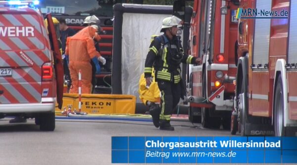 Ludwigshafen – Willersinnn-Freibad aufgrund Chlorgasaustritt evakuiert