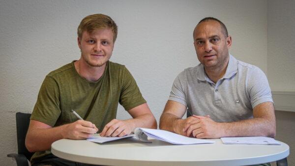 Sandhausen –  Benedikt Grawe verlängert seinen Vertrag beim SV Sandhausen
