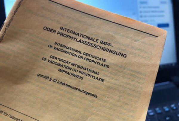 Frankenthal – Digitaler Impfausweis – Impfzentrum stellt Nachweis nicht rückwirkend aus