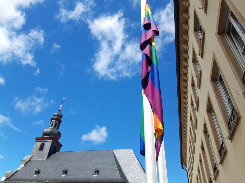 Frankenthal – Regenbogenflagge wird erneut gehisst