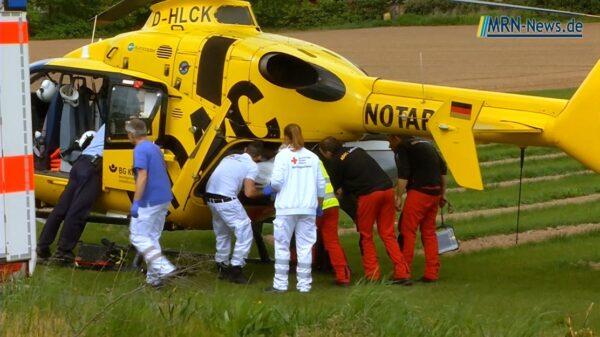 Wald-Michelbach – Schwerer Unfall mit Oldtimer fordert drei Verletzte
