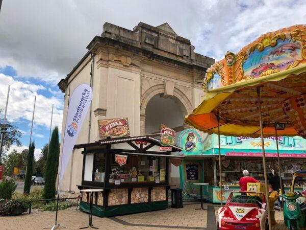 Frankenthal – Mini-Jahrmarkt zurück am Speyerer Tor