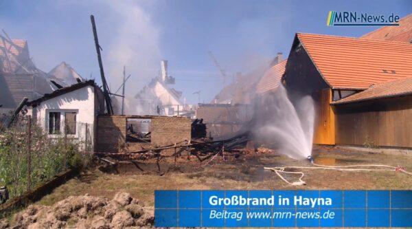 Landau – VIDEO NACHTRAG – Großbrand in Herxheim Hayna