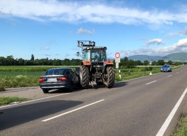 Venningen – Schwerer Verkehrsunfall mit drei Verletzten auf der K6