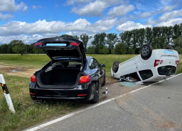 Altdorf – Schwerer Verkehrsunfall infolge Vorfahrtsmissachtung