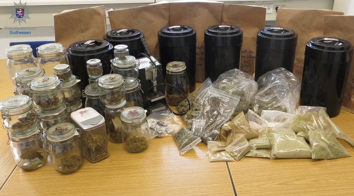 Heidelberg – Polizei stellt kiloweise Drogen und hohe Bargeldsumme sicher