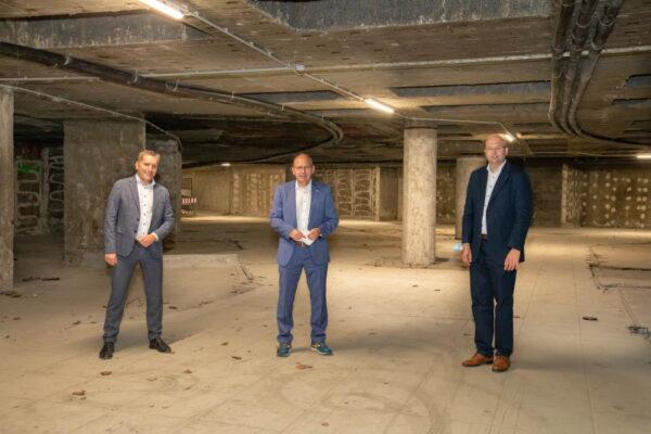 Mannheim – Verfüllung der Borelly-Grotte: Nächster Bauabschnitt der Neugestaltung des Bahnhofsvorplatzes