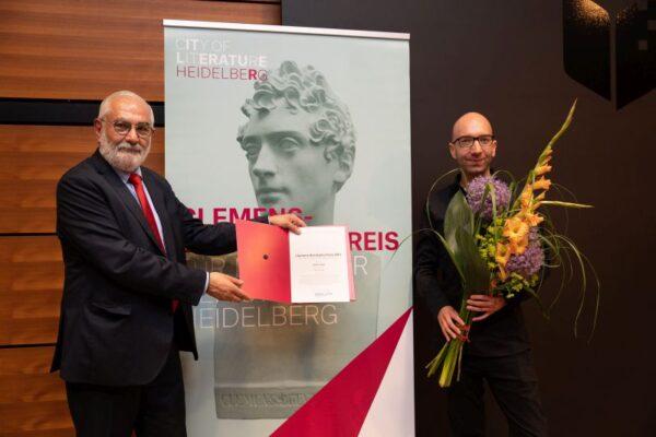 Heidelberg – Clemens-Brentano-Preis der Stadt Heidelberg 2021 an Simon Sailer verliehen