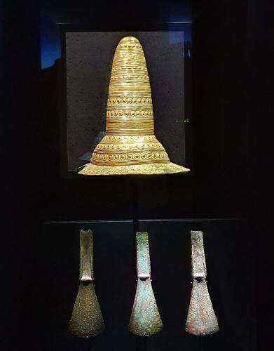 Schifferstadt – Goldener Hut in Halle – Bürgermeisterin Ilona Volk besucht Landesmuseums für Vorgeschichte