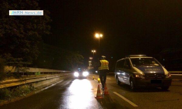St. Leon – NACHTRAG – Drei Verletzte auf A5 – 21jähriger Unfallverursacher über zwei Promille