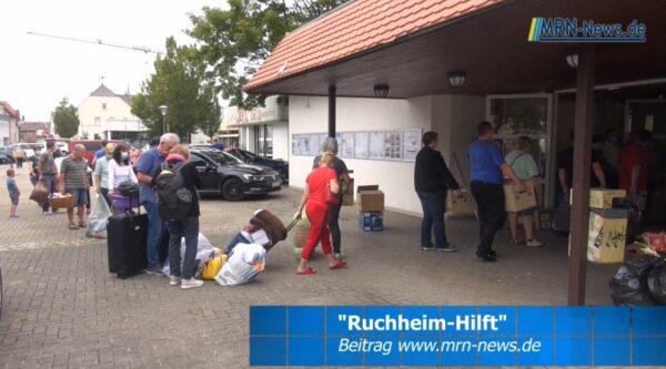 """Ludwigshafen –  VIDEO – Ruchheimer Ortsvorsteher Dennis Schmidt organisiert """"Ruchheim-hilft"""" und repräsentiert die Stadt bei der Hochwasserkatastrophe"""