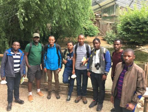 Landau – Acht ruandische Gast-Masterstudenten des Fachs Naturschutzbiologie zum Informationsbesuch im Zoo Landau in der Pfalz – Erste echte Begegnung mit Tiger, Pinguin oder Schimpanse