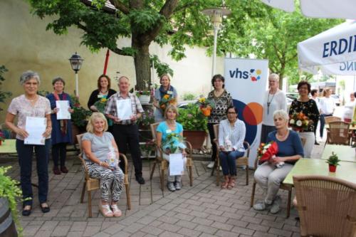 Germersheim – Ehrennadel des Volkshochschul-Verbandes Rheinland-Pfalz e.V. – Ausgezeichnete Referendare bei der KVHS