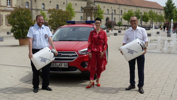 Germersheim – Schwimmsauger für die Feuerwehren im Kreis – Versicherungskammer Bayern unterstützt Pfälzer Wehren