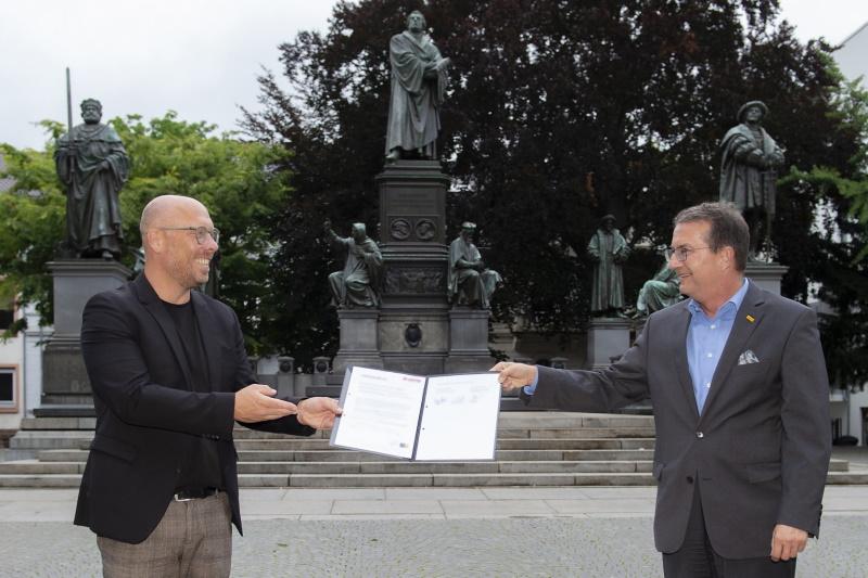 Worms – Nibelungen-Festspiele Worms und Lotto Rheinland-Pfalz verlängern Partnerschaft und schließen zum zweiten Mal eine dreijährige Kooperation ab