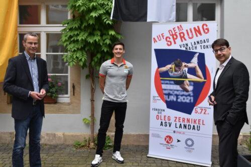 Landau – Unter den besten 10 – Landauer Stabhochspringer Oleg Zernikel beendet Olympiadebüt mit Sprung über 5,70 Meter – Kriterien für Verleihung der Stadtsporturkunde in Gold gleich doppelt erfüllt