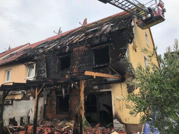 Frankenthal – Einfamilienhaus in Vollbrand – Glücklicherweise gab es keine Verletzten