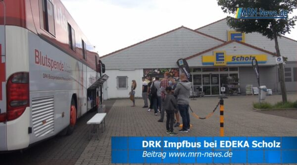 Ludwigshafen – VIDEO – Erfolgreiche Corona Impfaktion bei EDEKA Scholz