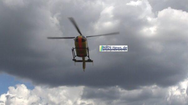 Rhein-Neckar-Kreis – Modellflugzeug löst Suchaktion mit Polzei, Hubschrauber und Rettungsdienst aus