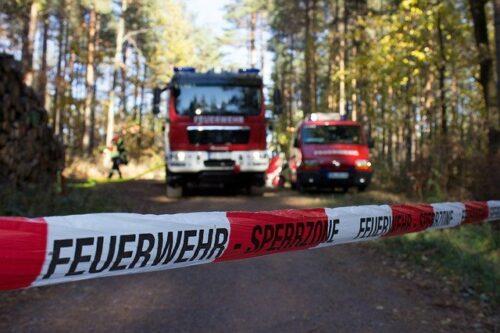 Heidelberg – Waldbrandübung der Feuerwehr im Mühltal am 14. August