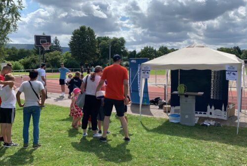 Heidelberg – Olympische Disziplin 3×3 auf dem Freiplatz der SGK Basketball