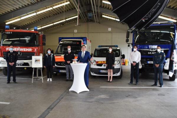 Landau – Noch bis Mitte Oktober für das Ehrenamt in Landau abstimmen – Freiwillige Feuerwehr, DLRG, DRK und THW für Deutschen Engagementpreis 2021 nominiert