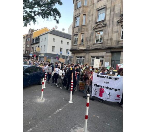 """Mannnheim – """"Fridays for Future""""-Demo sorgt für Verkehrsbehinderungen"""