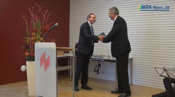 Ludwigshafen – Video vom Festakt für Dr. Dieter Wagner an der Hochschule für Wirtschaft und Gesellschaft