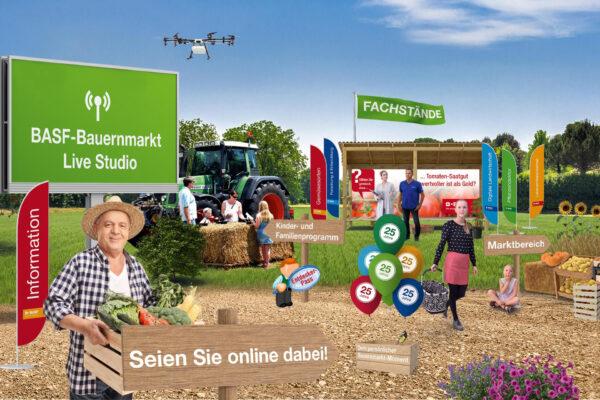 Ludwigshafen – BASF feiert Jubiläum des Bauernmarkts virtuell