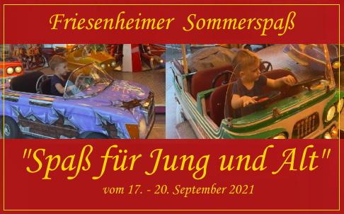Ludwigshafen –  Friesenheim feiert Sommerspaß der Schausteller