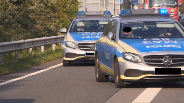St. Leon-Rot – AKTUELL VOLLSPERRUNG A5 – Verkehrsunfall mit mehreren Fahrzeugen