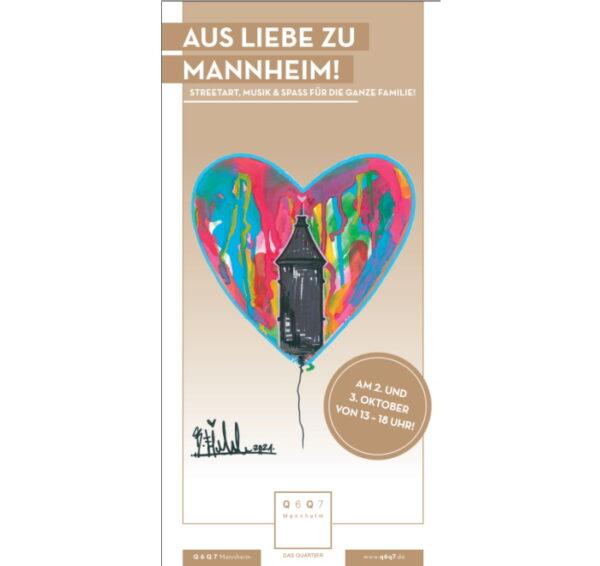 Mannheim – Aktions-Wochenende in Q 6 Q 7 zum verkaufsoffenen Sonntag am 3. Oktober