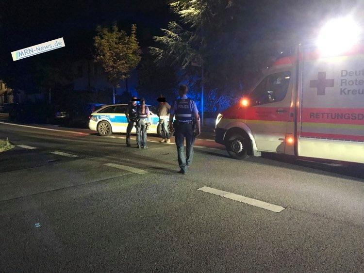 Ludwigshafen – Fußgängerin in der Raschigstraße von Auto erfasst