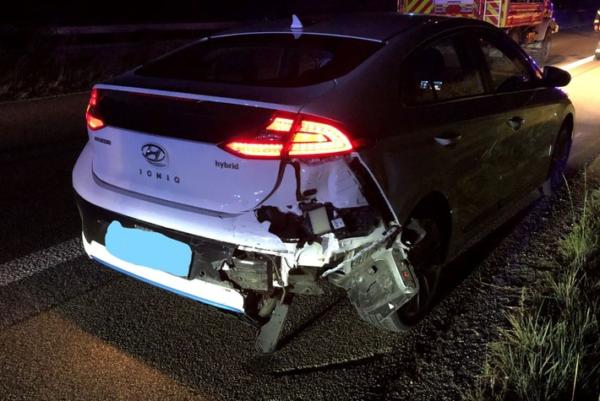 Neustadt – Zwei Autofahrerinnen auf der #A65 leicht verletzt
