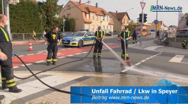 Speyer – VIDEO – Radfahrer schwerverletzt