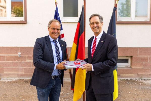 Heidelberg – Oberbürgermeister Prof. Dr. Eckart Würzner traf US-Generalkonsul zum Antrittsbesuch