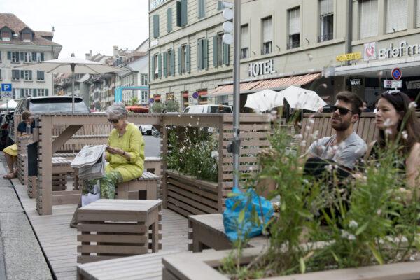 """Heidelberg – Den Parkplatz zum kreativen Erholungsort umwandeln! Stadt startet Pilotprojekt """"Parklets""""- Ab sofort Antragstellung möglich"""