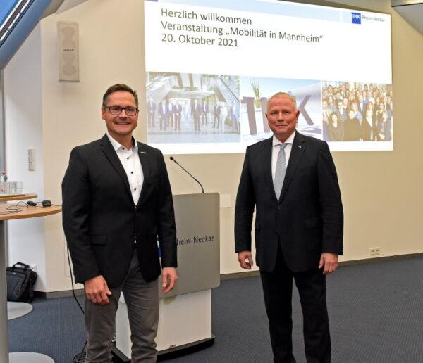 """Mannheim – IHK:  Wirtschaft und Stadtverwaltung im Austausch: """"Wirtschaftsstandort durch zukunftsorientierte Mobilität gemeinsam stärken"""""""