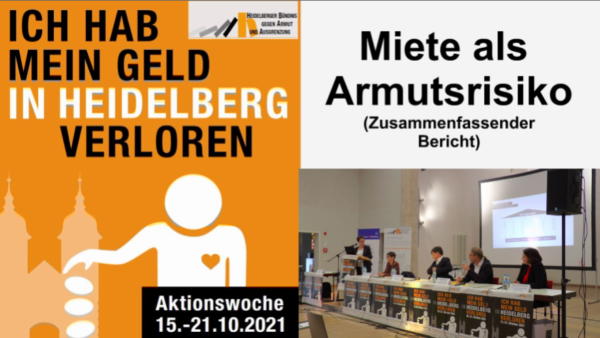 Heidelberg – Armutsrisiko Wohnkosten – Zusammenfassung der Diskussionsveranstaltung bei der Aktionswoche gegen Armut und Ausgrenzung – mit VIDEO