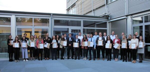 Ludwigshafen – HWG LU: 40 Studierende erhielten  das begehrte Deutschlandstipendium