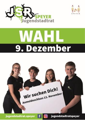 Speyer – Wahl zum siebten Jugendstadtrat Speyer steht an