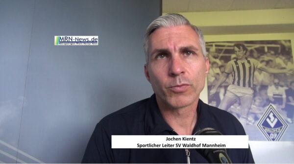Mannheim –  SV Waldhof Mannheim: Jochen Kientz als Sportlicher Leiter freigestellt