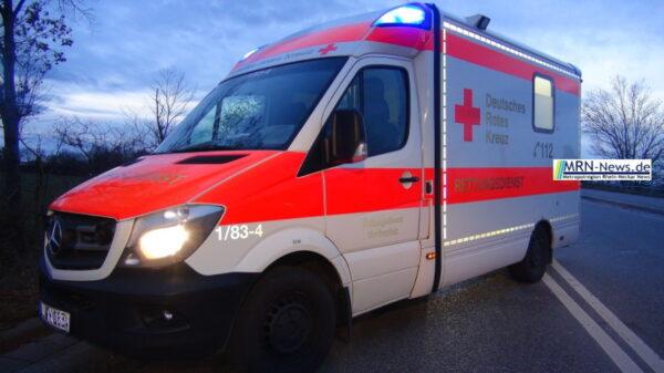 Haßloch – Verletzte Frau zurückgelassen