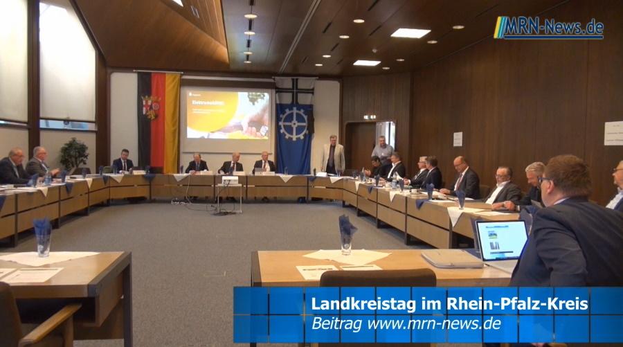 Rhein-Pfalz-Kreis – Landrat Clemens Körner lud zur Landrätekonferenz nach Limburgerhof ein