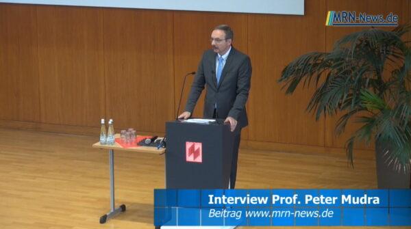 Ludwigshafen – Prof. Dr. Peter Mudra im Interview zum Abschied als Hochschulpräsident der HWG Lu
