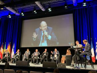 Mannheim – Europäische Sicherheitskonferenz in Nizza – Specht tritt Amt als Vizepräsident an