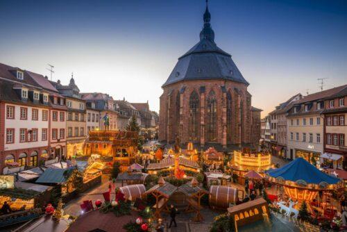 Heidelberg – Bürgerhütte auf dem Heidelberger Weihnachtsmarkt!