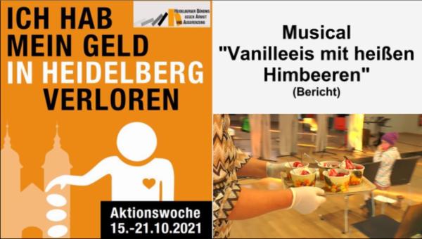 """Heidelberg – Musical """"Vanilleeis mit heißen Himbeeren"""" sorgte für Unterhaltung bei der Aktionswoche gegen Armut 2021 – VIDEO"""