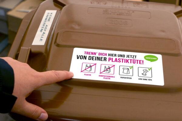 Frankenthal – Kein Plastik in die Biotonne – Frankenthal beteiligt sich an Kampagne #wirfuerbio